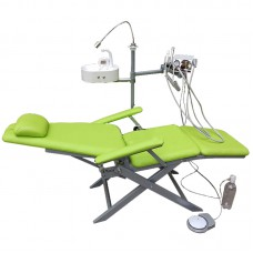 TB ® DZDY-3 Portable Dental Folding Chair with LED Light,Spittoon Basin and Turbine Unit