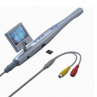 Dental Intraoral Camera 6 LED Light Video&USB with 1DB SD Card + Mini LCD Screen