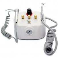 NEW Portable Dental Turbine Unit 4Hole D-7-03 with Air Compressor 3-way Syringe