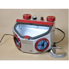 Dental Fine Blasting Unit for Polishing Porcelain Crowns Four Tank Twin Pencil