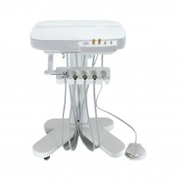 Dental Unit Mobile Delivery Cart Separate Water & Air Controlling by Handpiece
