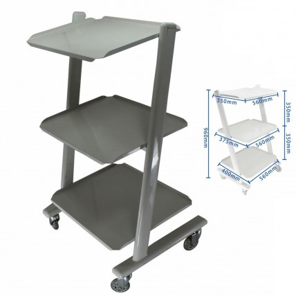 Medical Steel Cart Trolley Doctor Dentist Trolly for Spa Salon Dental Equipment