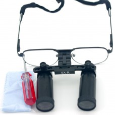 6.0X 420mm Dental Binocular Loupes Medical Loupes Dentist Magnifier Metal Frame