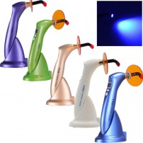 5 Color Dental LED Curing Cure Lamp light Wireless Cordless 1500mw for Dentist