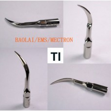 Baola® Dental Ultrasonic Scaler Tip T1 Compatible with BAOLAI/EMS/MECTRON 3Pcs