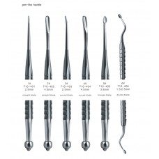 Dental Root Elevators with pen-like Handle