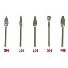 5PCS Tungsten Carbide Dental Burs For Micro Motor