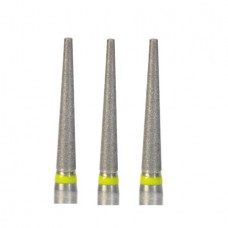 1.6mm Dental Diamond Bur Bits Drill FG TF-21EF 100 Pcs