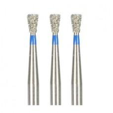 1.6mm Dental Diamond Bur Bits Drill FG SI-48 100 Pcs