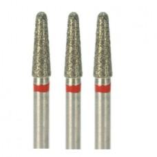 1.6mm Dental Diamond Bur Bits Drill FG CR-11F 100 Pcs