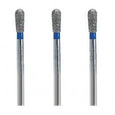 1.6mm Dental Diamond Bur Bits Drill FG EX-21 100 Pcs