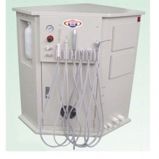 Best® BD-408 LED Dental Delivery System Mobile Dental Cart Unit All in one with LED Fiber Optics Tube