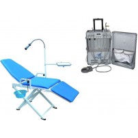 Greeloy® GU-P206 Dental Portable Turbine Unit Scaler Curing Light+Dental Portable Chair GU-P109A-2