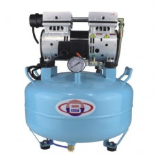 One-Driving-One Silent Oilless Dental Air Compressor Noiseless 3/4 HP BD-101A