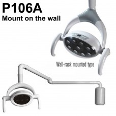 28W Dental Oral Light Patient Lamp 9 LED Lamp P106A (Mount on the Wall)