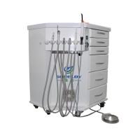 Greeloy® Built-in Curing Light Ultrasonic Scaler 3 in 1 Mobile Dental Unit GU-P212