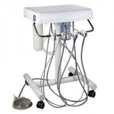 Dental Mobile Cart Unit Portable Self Delivery Handpiece