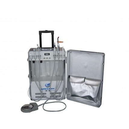 Greeloy® Dental Portable Unit GU-P206 Built-in Scaler & Curing Light
