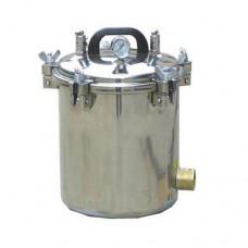 12L Portable High Pressure Steam Autoclave Sterilizer Class N