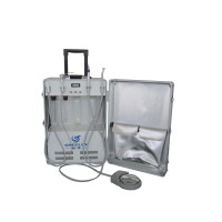 Greeloy® Dental Portable Turbine Unit with Air Compressor Suction GU-P204