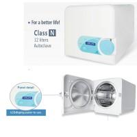 Dental Lab Equipment Autoclave Sterilizer Vacuum Steam Vitale N Class 12L 220v
