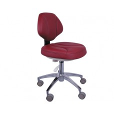 Dentist Stool Adjustable Mobile Operatory Chair Leather QY90G-1