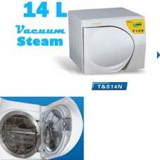 14L Autoclave Sterilizer Medical Surgical Sterilization Pressure Vacuum Steam Class N
