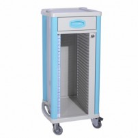 Mobile Dental Records Cabinets Medical Lab Use ABS ZL-J-B70