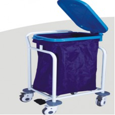 Dental Waster Collecting Cart ZL-J-W85 Stainless Steel Trolley Cart