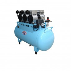 90L Noiseless Oilless Dental Air Compressor 390L/min 1-Driving-5 Stable