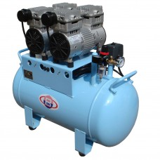 60L Noiseless Oilless Dental Air Compressor 300L/min 1-Driving-4 Reliable BD-202