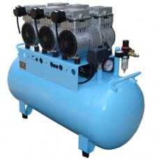 90L Dental Air Compressor Noiseless Oilless 450L/min 1-Driving-6 Stable BD-203