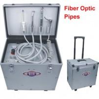 Best®BD-402A Portable Dental Turbine Unit with Air Compressor Suction System Fiber Optic