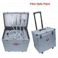 Best®BD-402B Dental Turbine Unit with Air Compressor Suction Triplex Syringe LED Fiber Optic