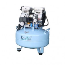 22L Noiseless Oilless Dental Air Compressor 115L/min 1-Driving-1 Stable DA5001