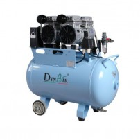 50L Noiseless Oilless Dental Air Compressor 230L/min 1-Driving-3 Stable DA5002