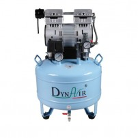 30L DA7001 Dental Air Compressor Noiseless Oilless 152L/min 1-Driving-2 Stable