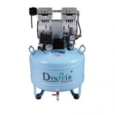 30L DA7001 Dental Air Compressor Noiseless Oilless 152L/min 1-Driving-2 Stable