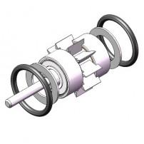 BIEN AIR BLACK PEARL Handpiece Turbine Handpiece Replacement