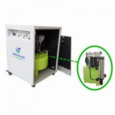 Greeloy® 800W Dental Air Compressor GA-81XY With Dryer and Silent Cabinet
