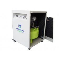 Greeloy® GA-61X Air Compressor With Silent Cabinet