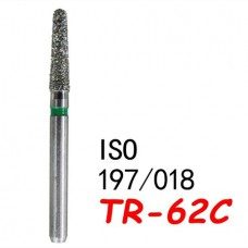 FG 100PCS Diam Diamond Burs 1.6mm TR-62C