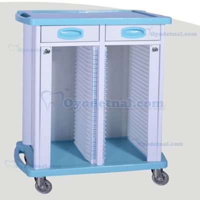 Mobile Dental Records Cabinets Filing Carts ZL-J-B80